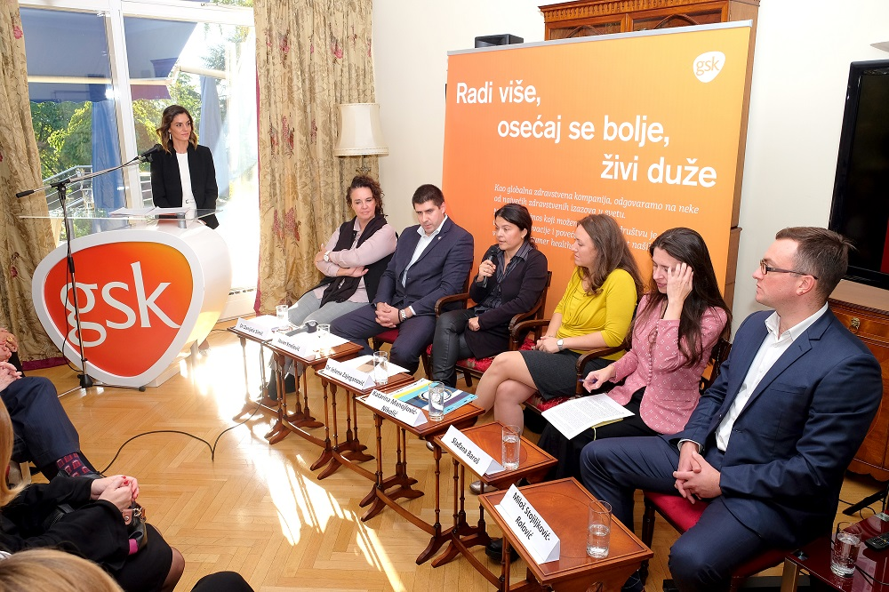 GSK Presented the Annual Corporate Responsibility Report for Serbia and Montenegro