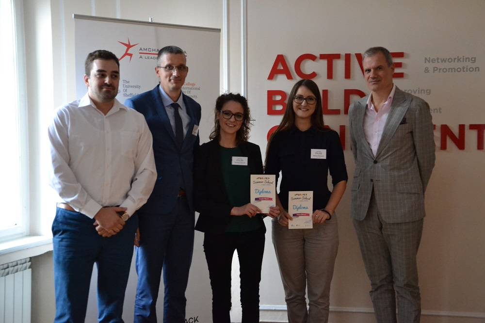 Winners of AmChamps Summer School, Powered by Banca Intesa, are Announced