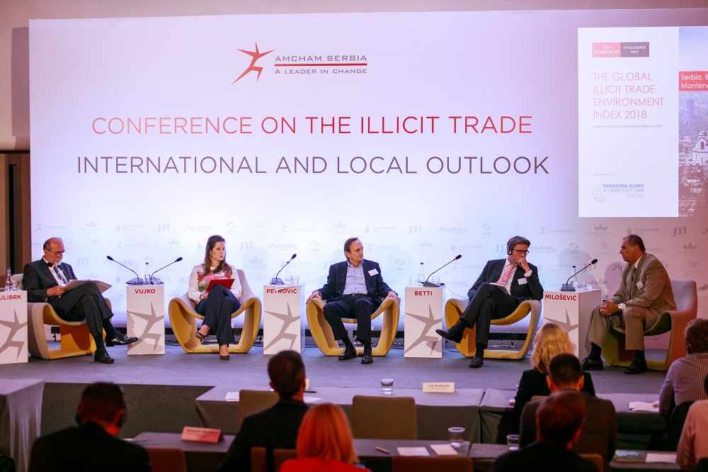 AmCham Holds Conference on Illicit Trade - Intenational and Local Outlook