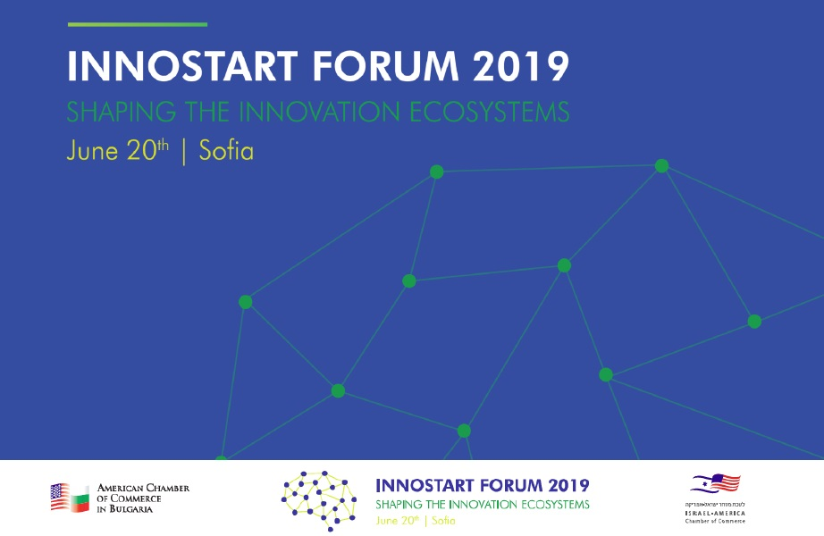 INNOSTART Forum 2019 in Sofia - SHAPING THE INNOVATION ECOSYSTEMS