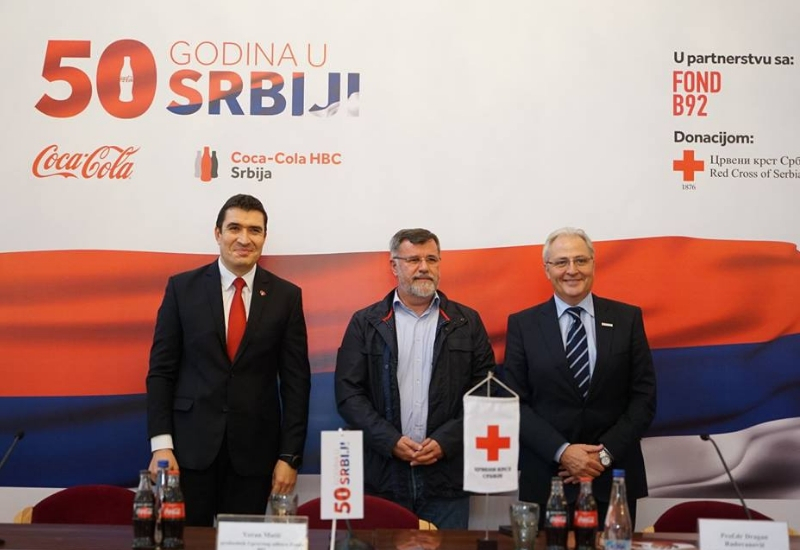 Coca-Cola Celebrates 50 Years in Serbia and Donates EUR 50,600 to Soup Kitchens