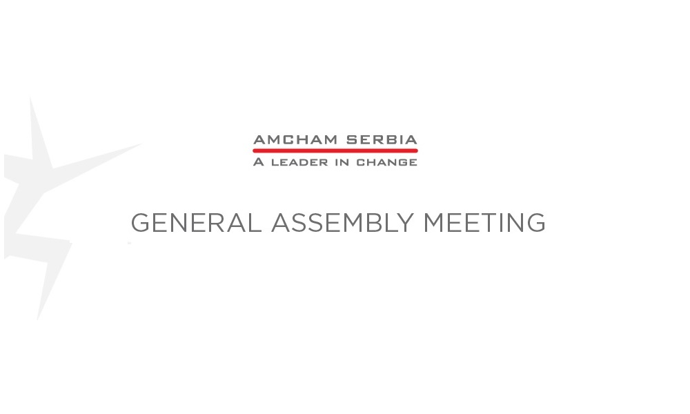 AmCham General Assembly Meeting 2019, February 25