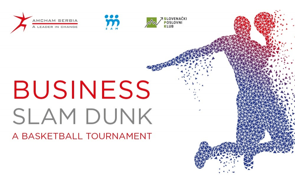 BUSINESS SLAM DUNK: Men's Basketball Tournament