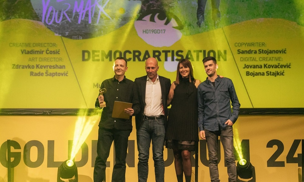 Success of McCann Agencies at the Golden Drum Festival