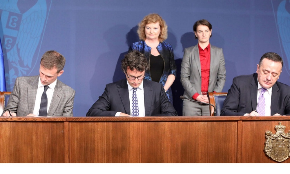 Memorandum of Understanding between Rio Tinto and Government of Serbia
