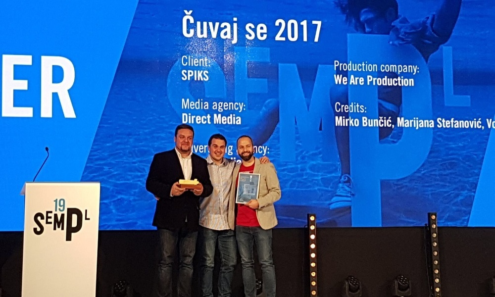 Two Gold Sempler Award Won by Direct Media