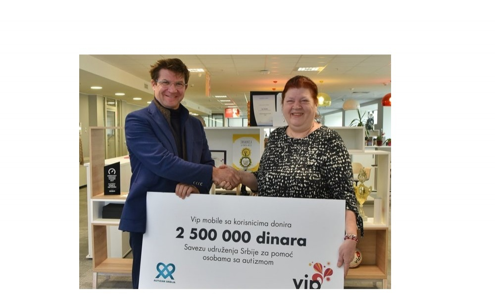 Significant Humanitarian Donation Made by Vip Mobile