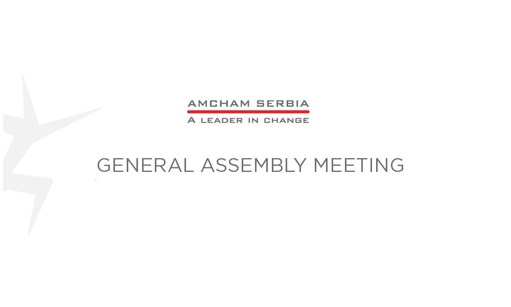 AmCham General Assembly Meeting Planned
