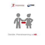 Gender Mainstreaming in HR