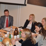 AmCham hosted a meeting of 5 business associations with Kori Udovički and Vidosava Džagić on the Draft Law on Inspection Oversight
