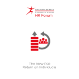 HR Forum Briefing & Panel: The New ROI - Return on Individuals